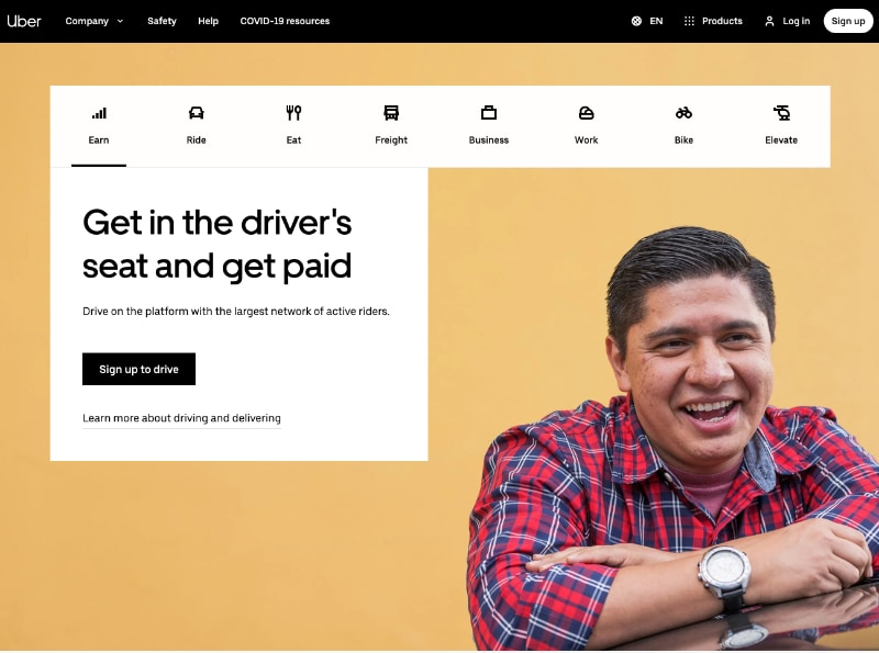 How much does it cost to build website like Uber
